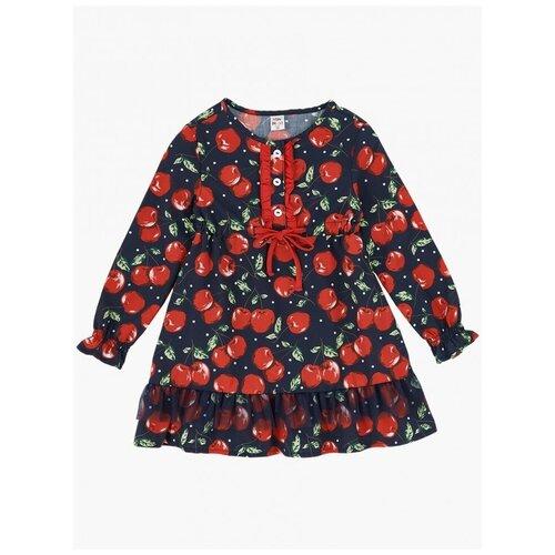 Купить Платье Mini Maxi размер 122, синий, Платья и сарафаны