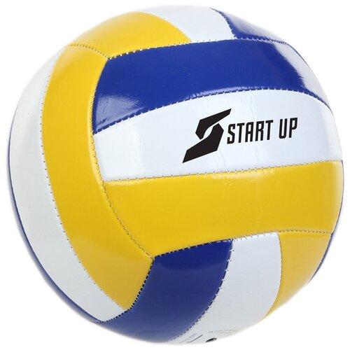 Волейбольный мяч START UP E5111 N/C желто-бело-синий мяч start up e5126 5 yellow violet