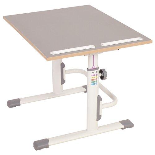 Купить Растущая парта-трансформер Polini Simple М1 75х55 см, серый, Парты и столы