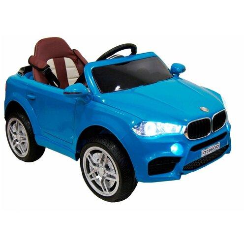 Купить RiverToys Автомобиль BMW O006OO, синий, Электромобили