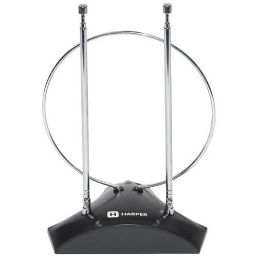 Комнатная DVB-T2 антенна HARPER ADVB-2010 телевизионная антенна harper advb 2440 dvb t2