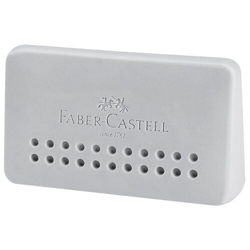 Faber-Castell Ластик Grip 2001 Edge серый недорого