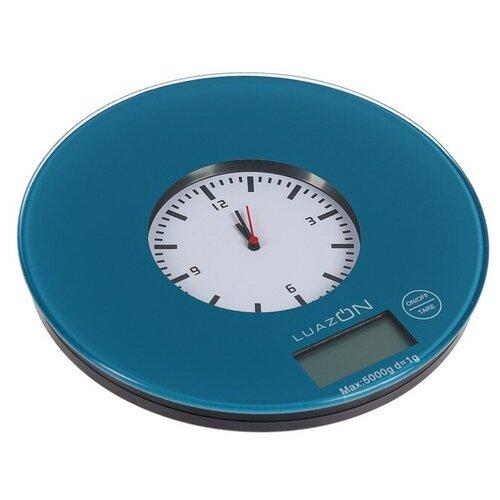 Кухонные весы Luazon LVK-508/LVK-703 темно-синий