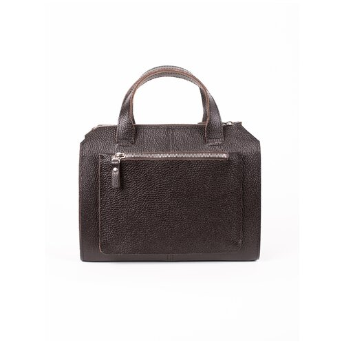 Фото - Женская сумка коричневая A018 brown mini grain Divalli сумка milano brown 9282 коричневая