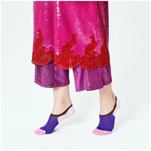 Носки для девушек Hysteria Isa Invisible Sneaker Sock - Pink/Purple/Brown 39-41