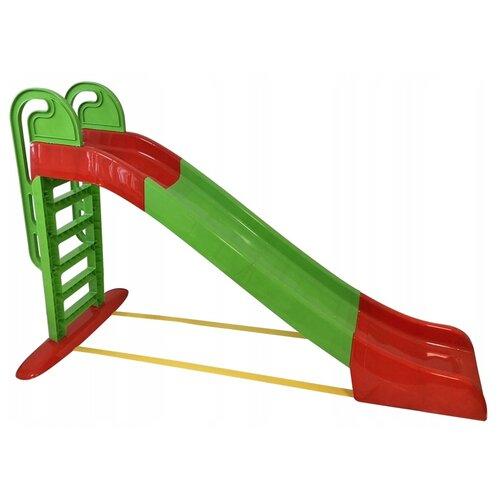 Купить Горка Doloni 014550, orange/green, Игровые и спортивные комплексы и горки