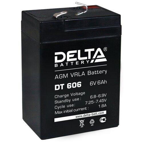 Аккумуляторная батарея DELTA Battery DT 606