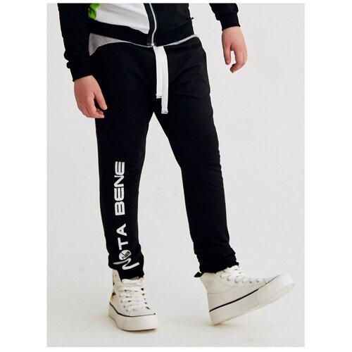 Фото - Спортивные брюки Nota Bene размер 134, темно-серый спортивные костюмы nota bene брюки спортивные для мальчика 192170601