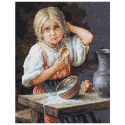 Набор для вышивания «Крестьянка», 34x44 см, Luca-S