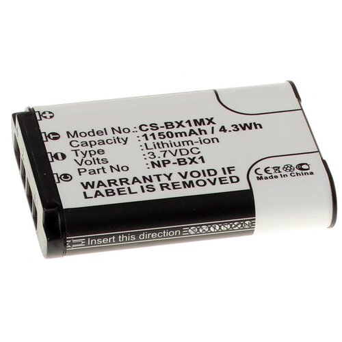 Фото - Аккумулятор iBatt iB-U1-F305 1150mAh для Sony Cyber-shot DSC-RX100, HDR-AS100V, Cyber-shot DSC-HX300, HDR-AS200V, Cyber-shot DSC-HX60, HDR-AS15, FDR-X1000V, Cyber-shot DSC-RX100M3, Cyber-shot DSC-HX50, HDR-AS30V, цифровой фотоаппарат sony cyber shot dsc rx100