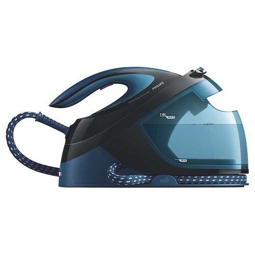 Фото - Парогенератор Philips GC8735 PerfectCare Performer синий/черный парогенератор philips gc7808 40