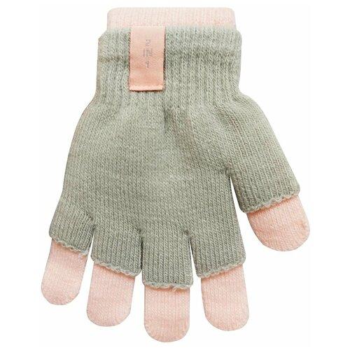 Перчатки RAK R-072 размер 18, светло-серый/розовый