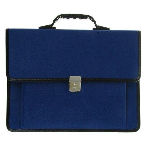 Фото - Портфель деловой ткань 380 х 290 х 100 мм, Сосново, синий с ремнём борис вельберг сосново
