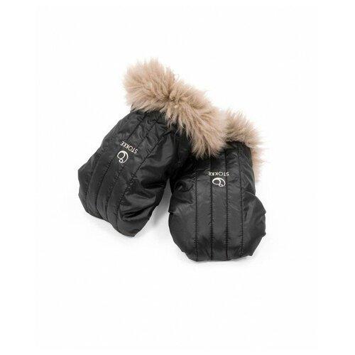 Stokke Варежки-муфта Stroller Mittens onyx black
