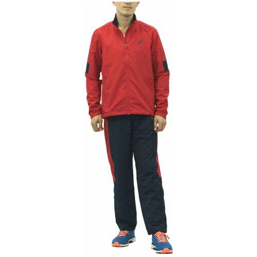 Спортивный костюм мужской ASICS 142894 0672 SUIT INDOOR 1428940672 размер 48 цвет красный