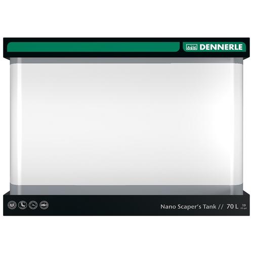 Аквариум Dennerle Nano Scaper's Tank, 50*39*36 см, 70 л аквариум dennerle nanocube 20 литров 1 шт