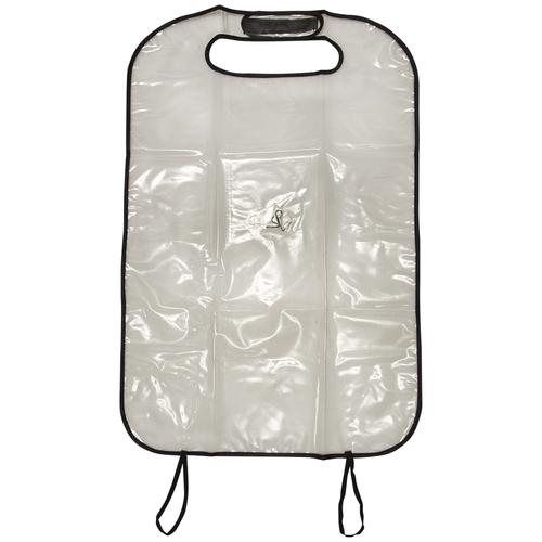 Накидка защитная на спинку сиденья, прозрачная, ПВХ
