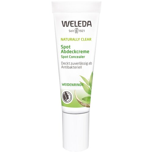 weleda naturally clear purifying gel cleanser Weleda Консилер Naturally Clear Spot Abdeckcreme, оттенок бежевый