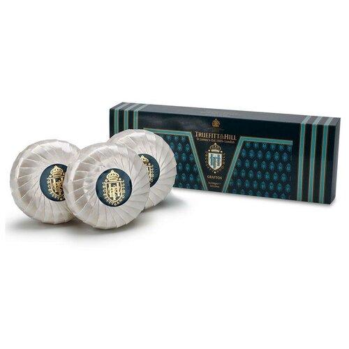 Купить Мыло кусковое Truefitt & Hill Grafton, 3 шт., 150 г