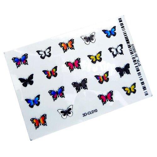 Наклейки Anna Tkacheva 3D-CL010 разноцветный наклейки anna tkacheva 3d n006 черный