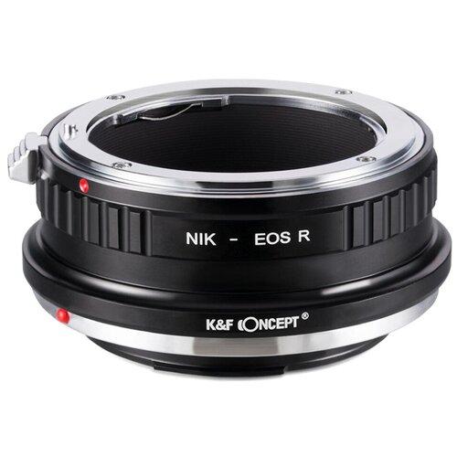 Фото - Адаптер K&F Concept для объектива Nikon F на Canon R KF06.379 f led