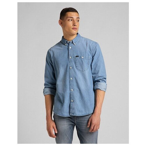 Рубашка Lee размер XL морозно-синий