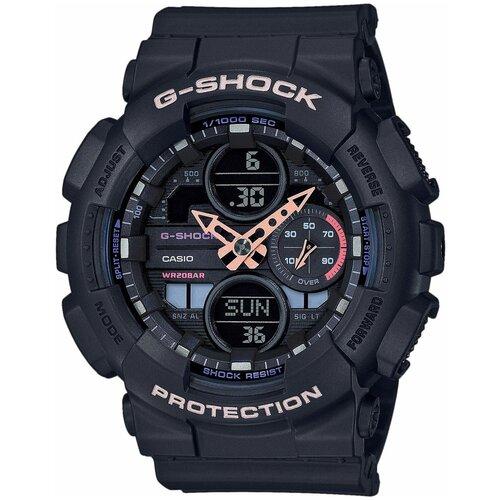 Японские наручные часы Casio GMA-S140-1AER мужские кварцевые