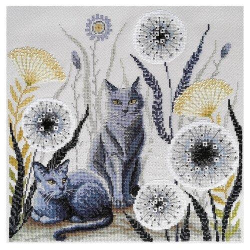 Набор для вышивания Кошки 30 х 30 см МАРЬЯ ИСКУСНИЦА 03.017.08 набор для вышивания марья искусница 11 001 24 испания
