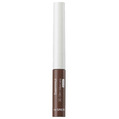 Купить The Saem Тушь для ресниц Saemmul 3D Slim Mascara, коричневый