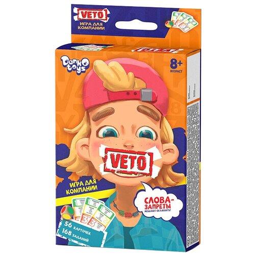 Настольная игра Danko Toys Veto mini