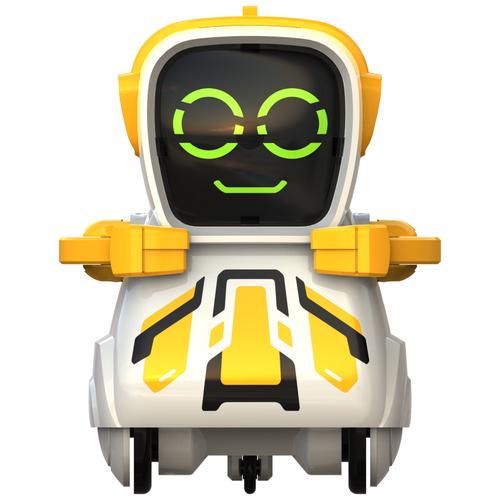Фото - Робот Silverlit Pokibot Квадратный желтый интерактивная игрушка робот silverlit macrobot оранжевый
