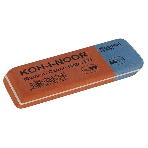 Ластик K-I-N каучук BLUE STAR 6521/1 красно-синий 157*6*13мм 6521001001KK 4551894 стирательная резинка ластик koh i noor bluestar 6521 40