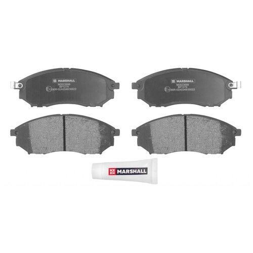 Дисковые тормозные колодки передние Marshall M2623698 для Nissan, Infiniti, Renault (4 шт.)