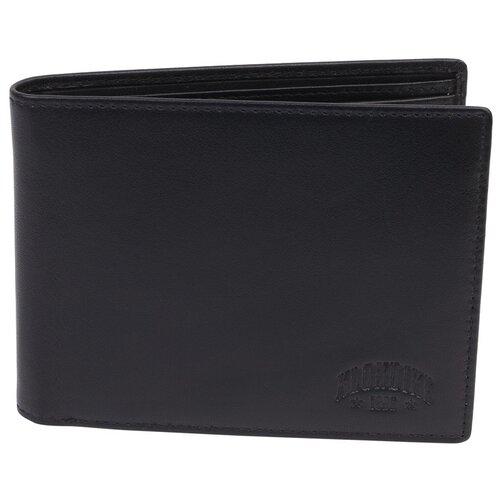 Бумажник мужской Claim KLONDIKE 1896, KD1105-01 черный