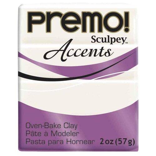 Купить Полимерная глина Sculpey Premo, цвет - 5101 под жемчуг, 57 г, Глина