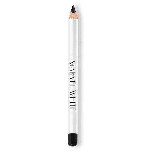 Купить Marvel Cosmetics White Карандаш для глаз, оттенок 401 NEW YORK (Угольно-черный)