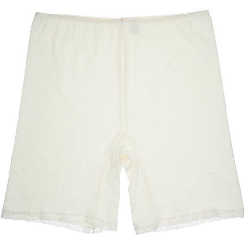 MiNiMi Трусы панталоны с завышенной талией, размер 52/XXL, слоновая кость (avorio)