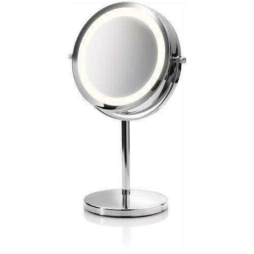 Зеркало косметическое настольное Medisana CM 840 с подсветкой серебристый