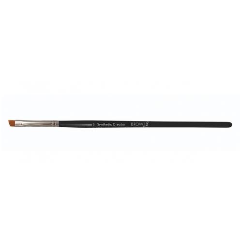 runail кисть shading synthetic anf 8 Кисть Runail Professional Synthetic Creator BrowID №5, для бровей черный