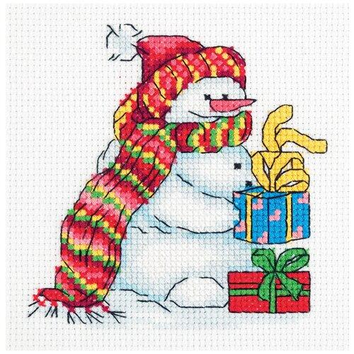 Klart набор для вышивания 8-273 Снеговичок