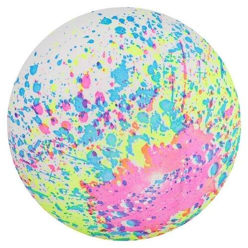 Купить Мяч детский «Фигурки», d=22 см, 60 г, цвета микс, Zabiaka, Мячи и прыгуны