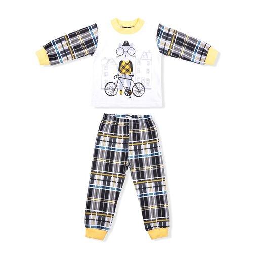 Фото - Пижама LEO размер 86, желтый пижама leo размер 98 красный