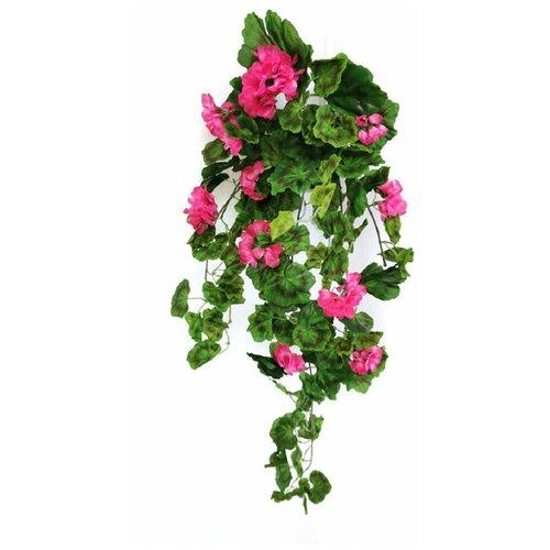 Искусственная Герань свисающая розовая