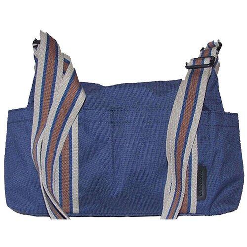 Сумка-бочонок BODENSCHATZ, текстиль, синий