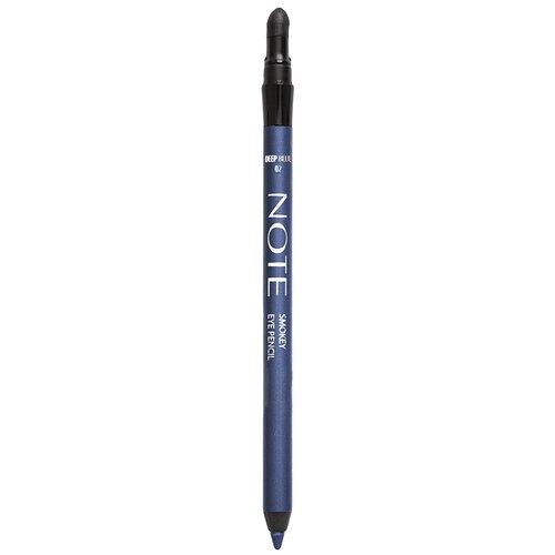 Фото - Note Карандаш для глаз Smokey Eye Pencil, оттенок 02 Deep Blue note smokey eye pencil