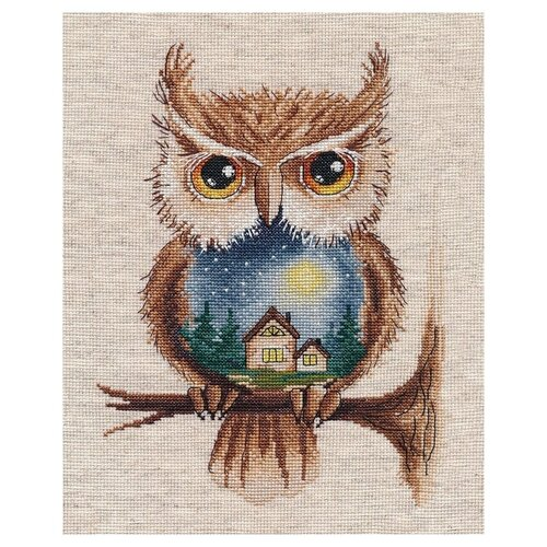 Купить Овен Набор для вышивания Лунная ночь 18 х 23 см (1368), Наборы для вышивания