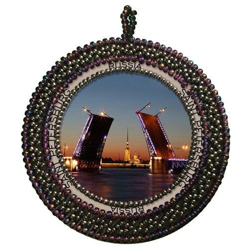 Купить Набор для вышивания NOVA STITCH Санкт-Петербург 6, 3х6, 3 см, NOVA SLOBODA, Наборы для вышивания