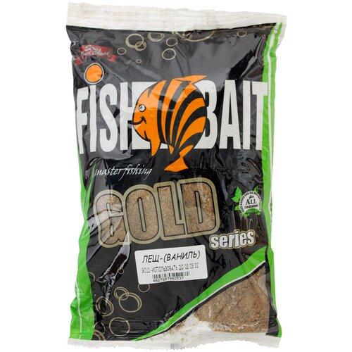 Прикормочная смесь FishBait Gold Лещ ваниль 1000 г