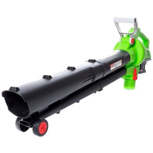 Воздуходувка-пылесос аккумуляторная RedVerg RD-BV36V (без акк, без з/у) воздуходувка пылесос redverg rd b18v от аккум зеленый черный