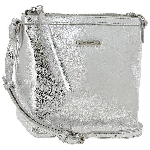 15824 С1 041 Женская сумка кросс-боди Fabretti, натуральная кожа
